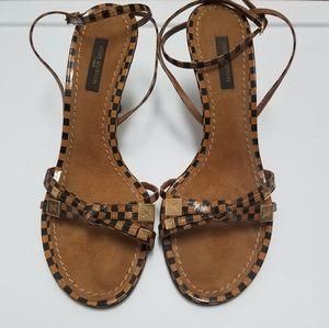 Louis Vuitton Cyndi Damier Sandals